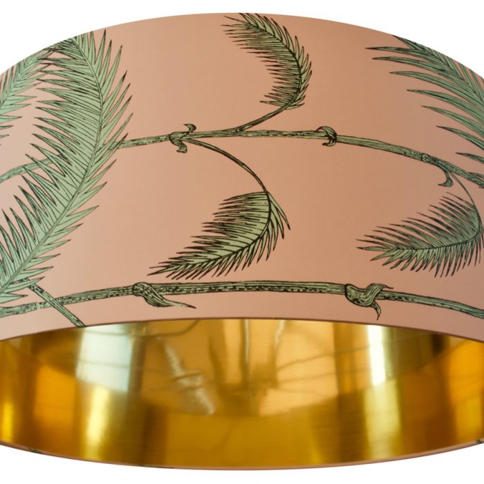 Palm Print with Gold Lining 2